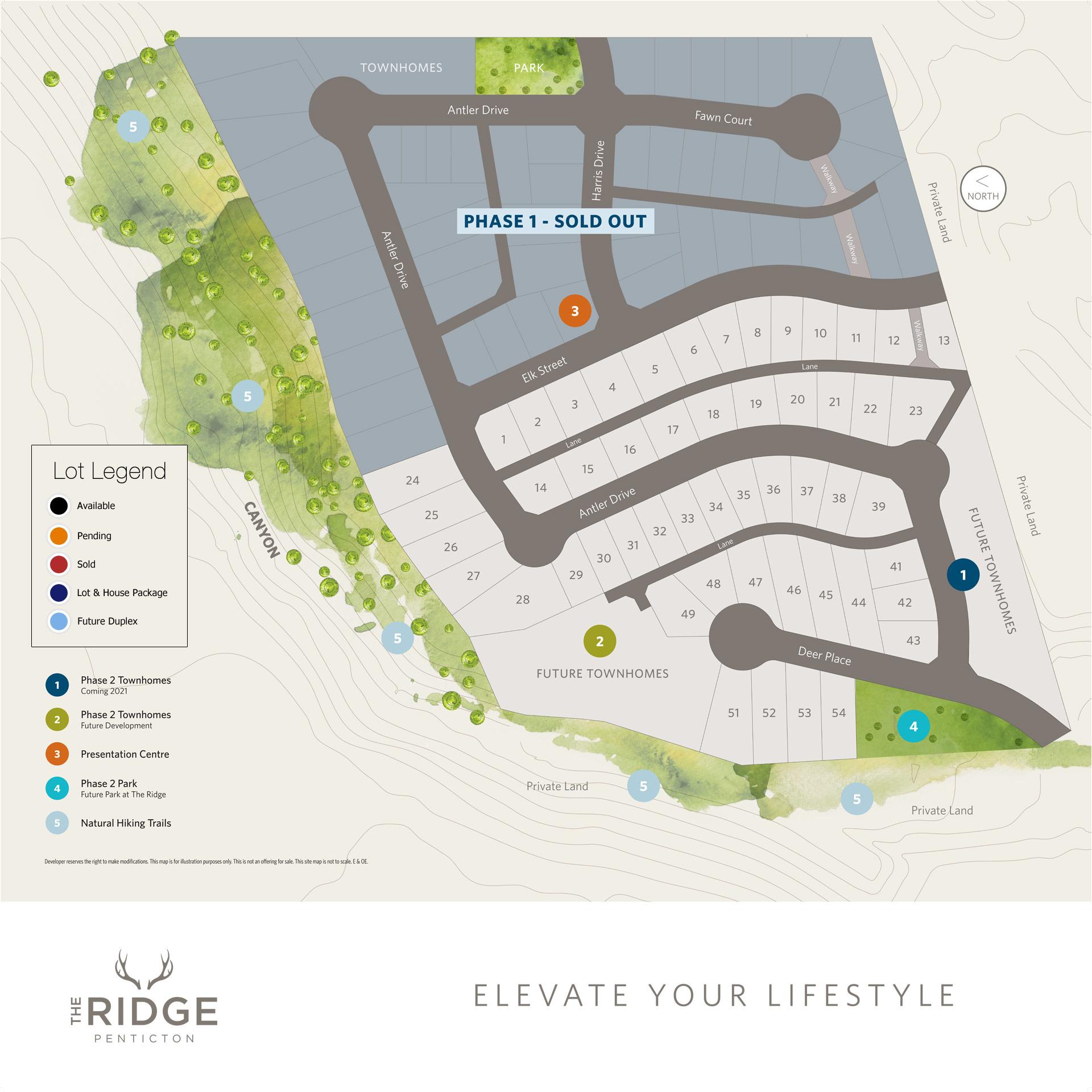 The Ridge Phase 2 Map